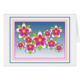 Carte Fleurs de flottement 1