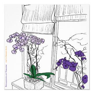 Carte fleurs JB et NT