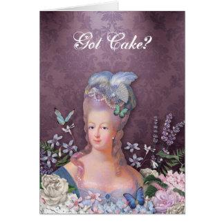 Carte Floral pourpre de Marie Antoinette