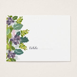 Carte florale d'allocation des places de mariage