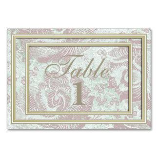 Carte florale de nombre de Tableau de tapisserie
