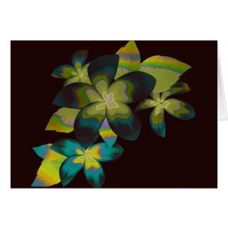 Carte Flore tropicale