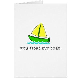 Carte Flottez mon bateau
