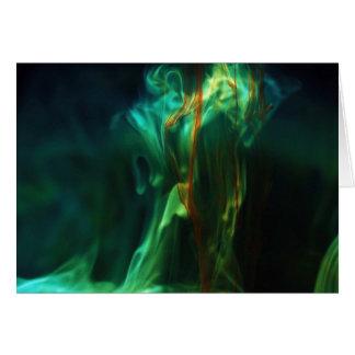 Carte /Fluorescein de dissolution dans l'eau