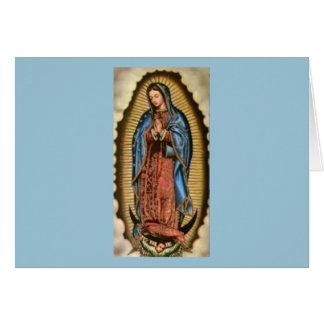 Carte Foi, Vierge Marie béni