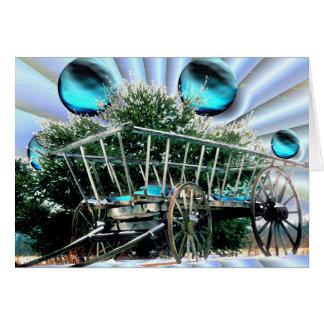 Carte Foin, chariot