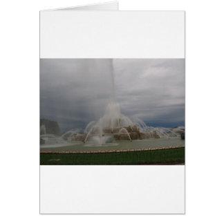 Carte fontaine de buckingham