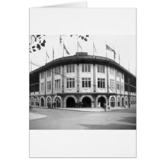 Carte Forbes Field, Pittsburgh, 1909