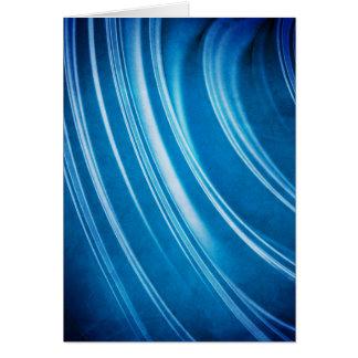 Carte Fractale bleue d'arêtes