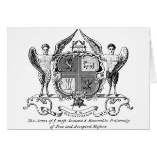 Carte Franc-maçon