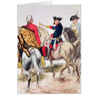 Carte Frederick II le grand