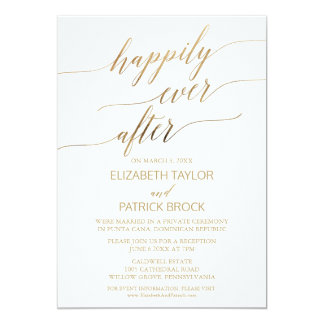 Carte Fugue élégante de calligraphie d'or