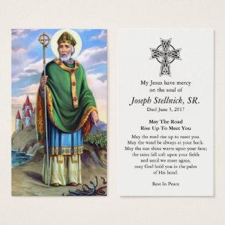 Carte funèbre aimée de prière de sympathie de St