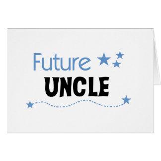 Carte Futur oncle T-shirts et cadeaux