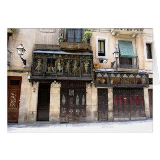 Carte g/nc Barcelone Barri Gotic 1 Barcelone