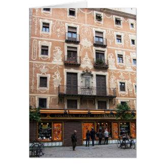 Carte g/nc Barcelone Placa pi
