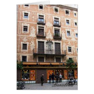 Carte g/nc Barcelone Placa pi Barcelone