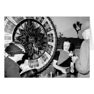 Carte Gagnez un casino vintage de Las Vegas de fortune