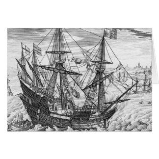 Carte Galion de la Reine Elizabeth