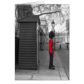 Carte Garde de position de la garde de la Reine à la