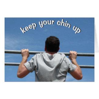 Carte Gardez votre Chin