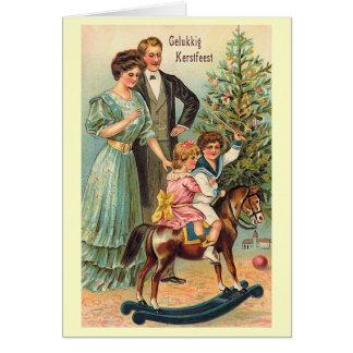"""Carte """"Gelukkig Kerstfeest """""""
