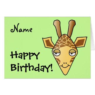 Carte Girafe