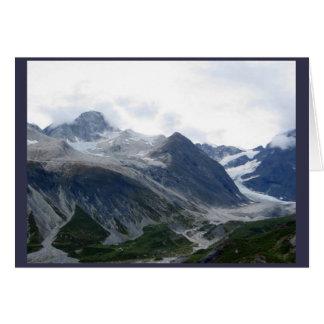Carte Glacier baie l'Alaska en septembre 2016