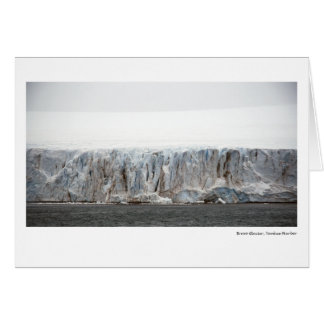 Carte Glacier de bravo, port de Yankee