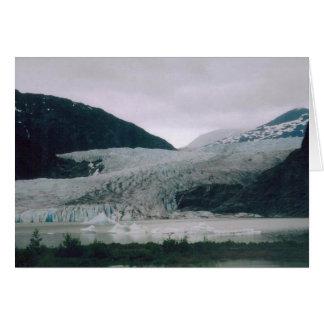 Carte Glacier de l'Alaska
