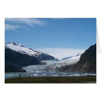 Carte Glacier de Mendenhall