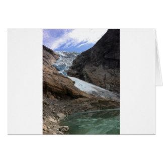 Carte Glacier norvégien