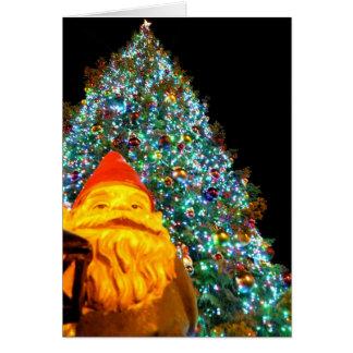 Carte Gnome de Joyeux Noël