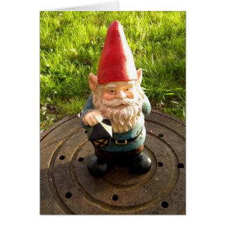 Carte Gnome de trou d'homme