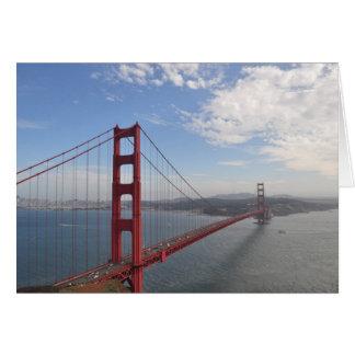 Carte Golden gate bridge de colline de faucon