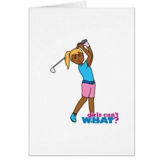 Carte Golfeur-fille 4