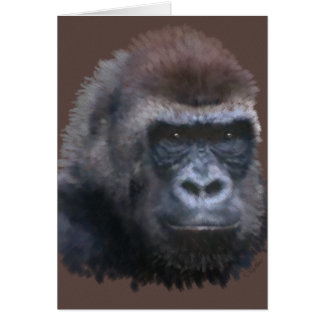 Carte Gorille de Silverback