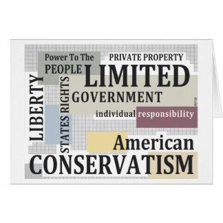 Carte Gouvernement limité