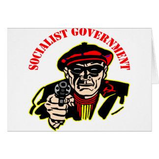 Carte Gouvernement socialiste = voleur puant