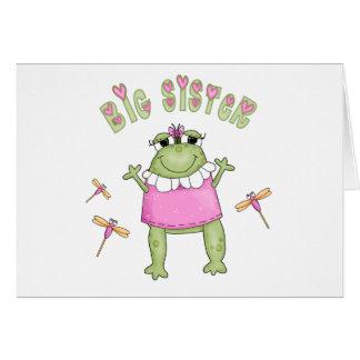 Carte Grande soeur de Froggie