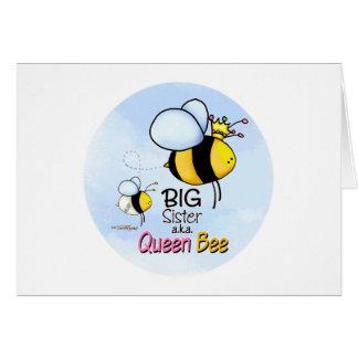 Carte Grande soeur - reine des abeilles