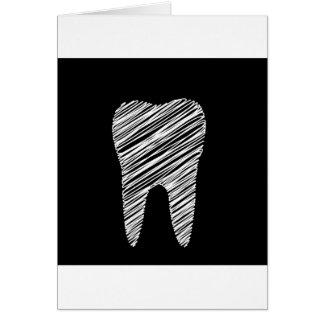 Carte Graphique de dent pour le dentiste
