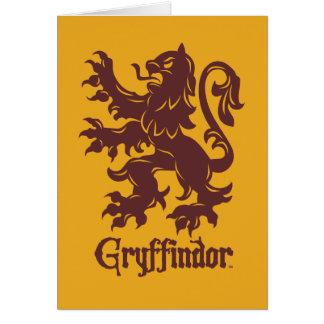 Carte Graphique de lion de Harry Potter   Gryffindor