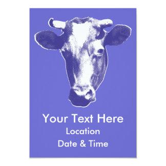 Carte Graphique pourpre de vache à art de bruit