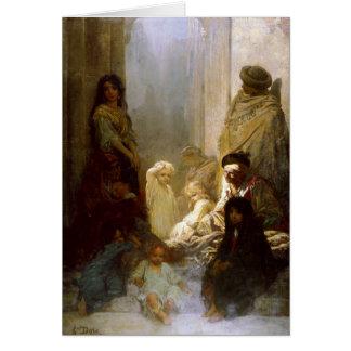 Carte Greetingcard avec la peinture de Gustave Dore