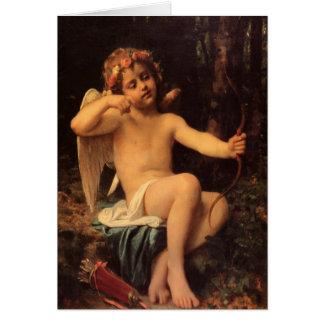 Carte Greetingcard avec la peinture de Léon Bazile