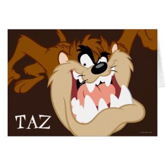 Carte Grimace de mal de TAZ™