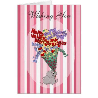 Carte Groupe d'affection de Valentine