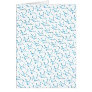 Carte Grues de papier d'origami de Stylii™ (Paperwhite)