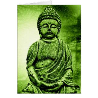 Carte Grußkarte Greetingcard Bouddha